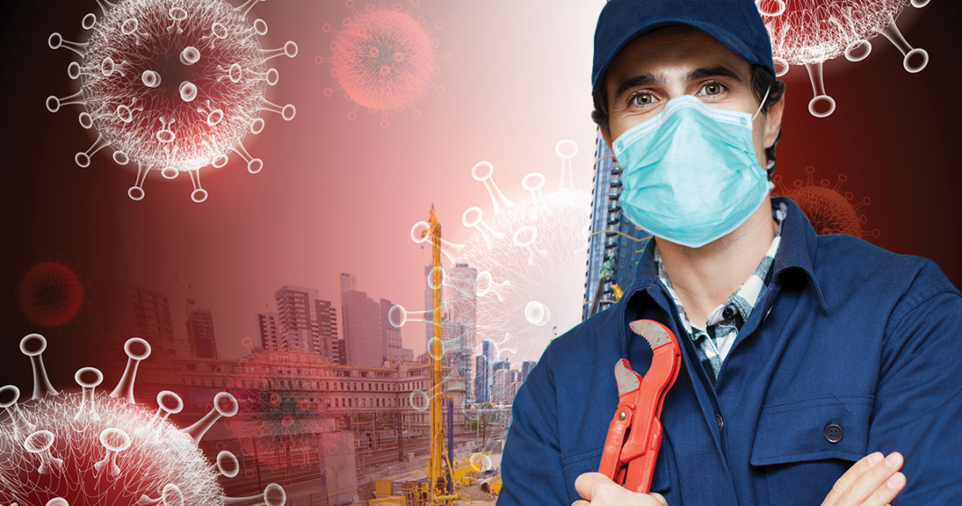 hire a plumber during Pandemic